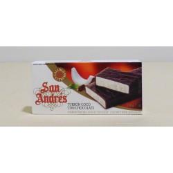 Turrón Coco Chocolate San Andrés